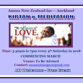 Kirtan & Meditation Programme